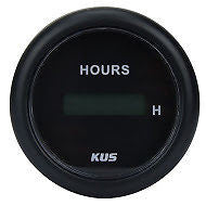 DIGITAL HOUR GAUGE Hour meter Marine Truck Engine Hourmeter 52mm gauge