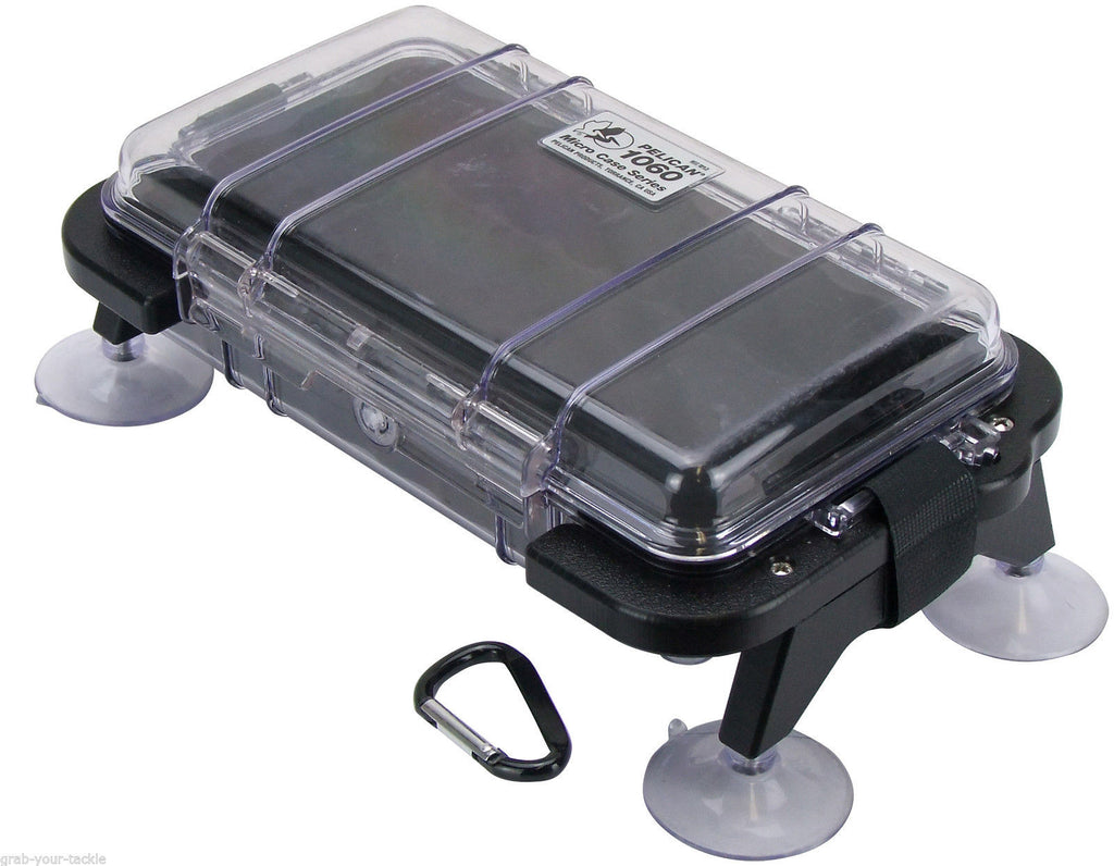 Waterproof case kayak boat jet ski Deep Blue Storage Box with Suction Cap Mounts