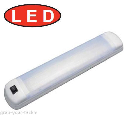 LED CABIN LIGHT Lucky Fluoro Replacement 12 volt / 24 volt 12 LEDS 142 Lumens