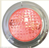 LED DOME LIGHT Stainless Steel Red Night Light/White Combo