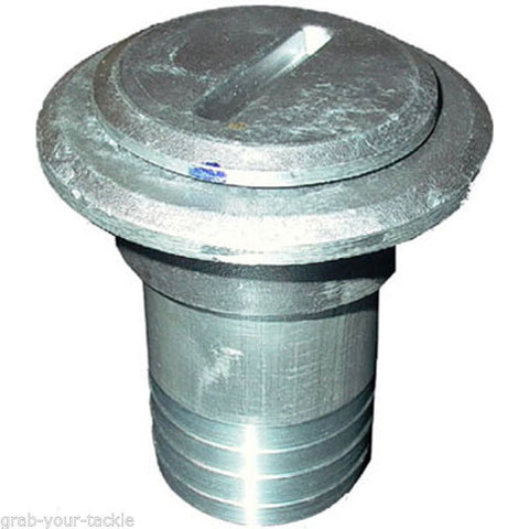 "Boat Deck Filler, For Boat Fuel Tank With TAIL, Alloy Weld on Tank Filler inlet Cap 45mm 1-3/4"" BSP"