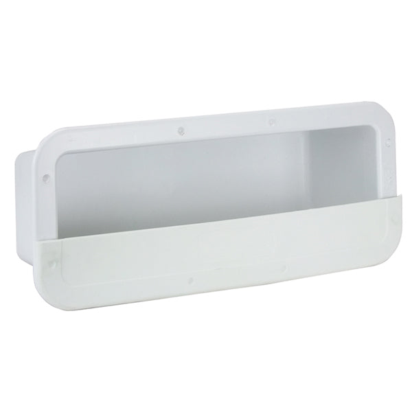 Boat /RV Side Pocket Holder Rectangular Can-SB® Horizontal Flush Mount Plastic