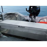 Boat Seat Cushion 1200mm x 300mm x 50mm Tinnie Seat Cushion Relaxn Grey x2 units