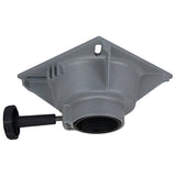 "Boat Seat Swivel Top Fits 60mm (2 3/8"")Post Rotates 360° High Strength Aluminium"