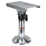 Boat Pedestal Manual Adjust With Slide & Swivel 450mm-600mm Height Adjust