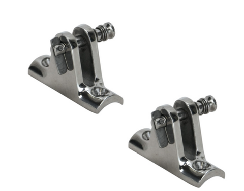 Cleat Flush Pull Up 316 Stainless 108mm Handle 130mm Length 22mm Diameter Bolts