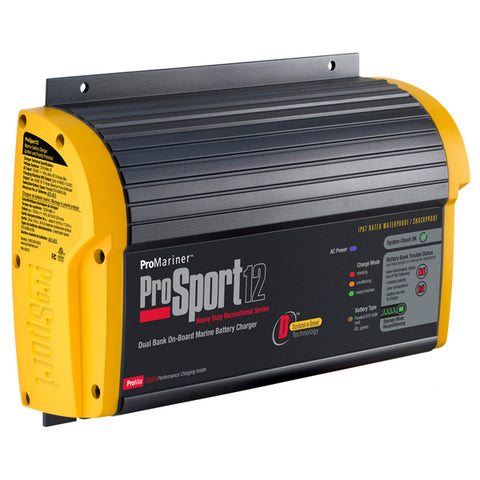 ProSport 12 12/24 Volt 12 Amp Marine Battery Charger High performance AGM Kit