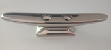Boat Cleat Narrow Base 316 Polished Stainless steel 150mm Heavy Duty Base