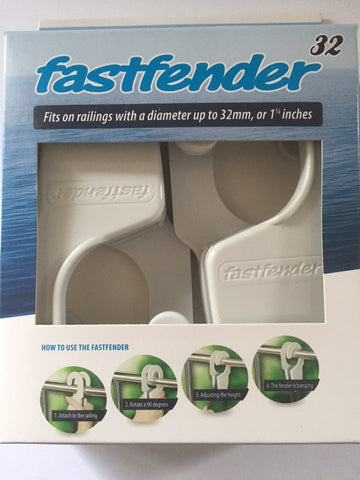 boat fender Clip Fastfender To suit 32mm Rails Fast Fender adjuster Boat Marine