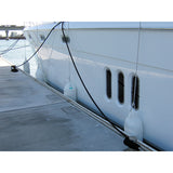 Boat Fender Supa Fend Inflatable Mooring Fender White PVC 600mm x 200 mm x 3