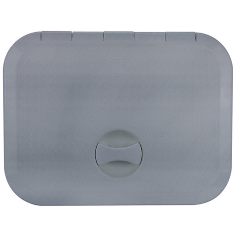 Access Hatch Grey Walk on Strong ABS Plastic 375mm x 280mm