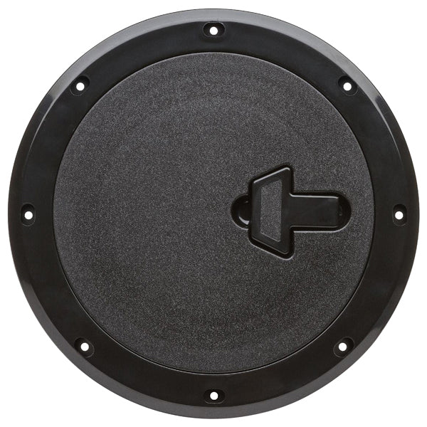 Boat Round Access Hatch Black Removable Lid ASA Plastic CAN-SB®Access Port