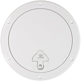 Boat Round Access Hatch White Removable Lid ASA Plastic CAN-SB®