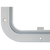 Access Hatch White Walk on Strong ABS Plastic 375mm x 280  S38241