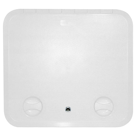 Access Hatch Access Locker Hatch With Lock White 460x 510 Walk On ABS Plastic