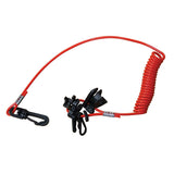 BOAT ENGINE SAFETY CUT-OUT IGNITION KILL SWITCH/LANYARD