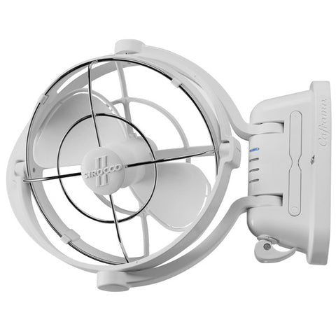 Fan CAFRAMO SIROCCO II 12/24 Volt White Caravan/Boat/RV Ultra Quiet Latest Model