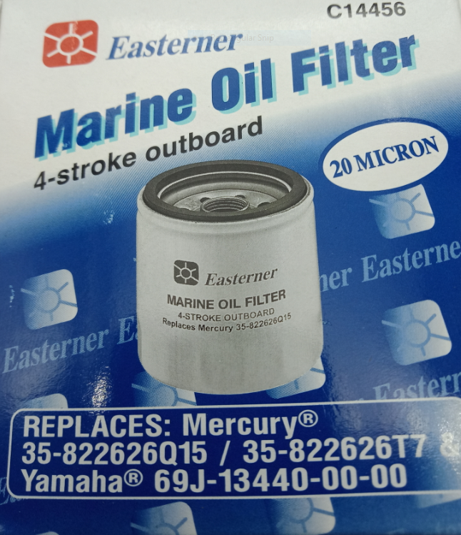 Mercury Oil Filter 35-822626Q15 & Yamaha 69J-13440-00-00 Replacement 4 Stroke