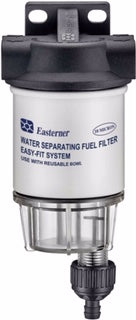 Marine Water Separating Fuel Filter - Easy-Fit Mini System - Complete