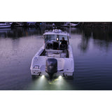 Boat LED Underwater Light White 12 volt Stainless Steel 316G Cover 4 Pack