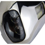 LED Docking Light - Stainless Steel Boat/Marine Dock Light Surface Mount White