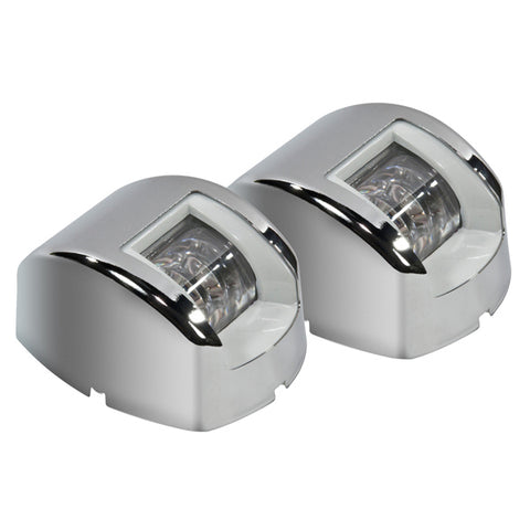 12 Volt LED Navigation Lights Boat Port & Starboard Stainless Steel Cover 2NM Approved