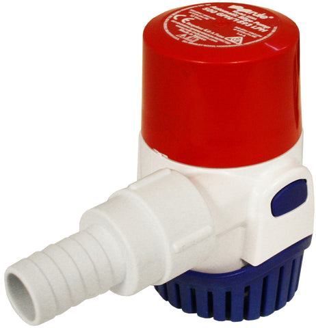 Automatic Bilge Pump Rule 500 GPH Continually checks for Water No Float Required