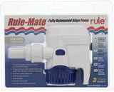 "RULE MATE ""Automatic"" Bilge Pump 500 GPH 1890LPH With AAA 3 Way Rocker Switch"