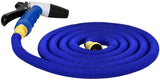 Deck Wash Expandable Hose Kit 22.5 Metres Spray Nozzle,Carry Bag, Brass Ends Inc.