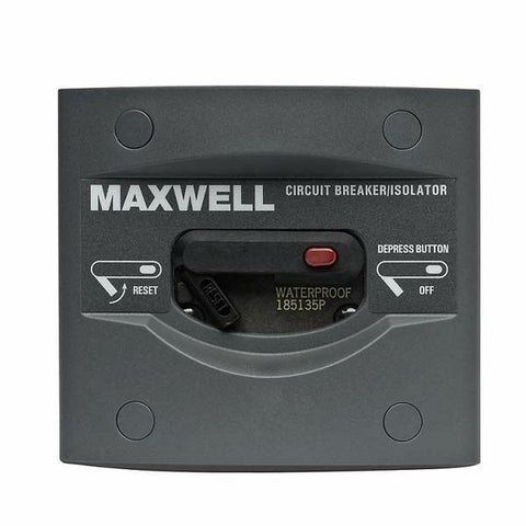 Maxwell Brand Circuit Breaker Isolator 80 Amp Waterproof for Anchor Winches