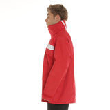 Wet Weather Jacket 100% Waterproof Sailing/Yachting/Fishing/Motorcycle Safety Red Medium
