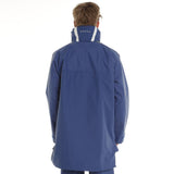 Burke Rain jacket 3/4Length Blue Wet Weather Jacket Boat Yacht Fishing Motorcycle- Size XL