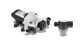 Caravan,Boat Water Pump Flojet Triplex 11 Litre/Min 12 volt 03526144 With Filter