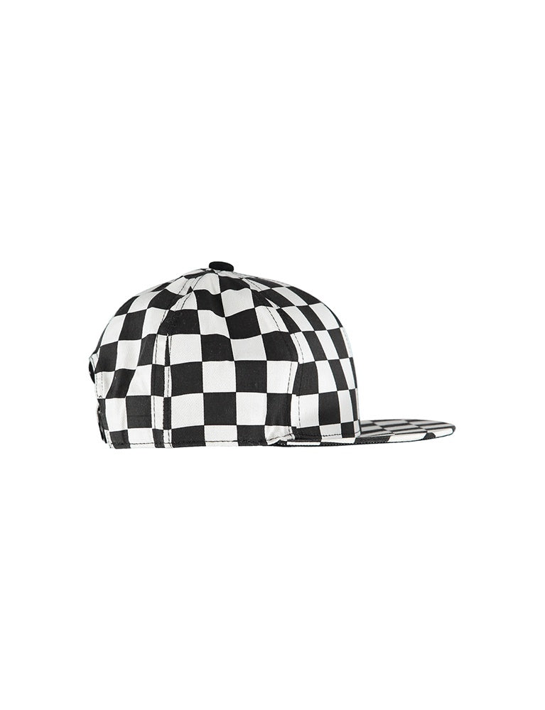 PRESTON B SKATER HAT W/CHECKS