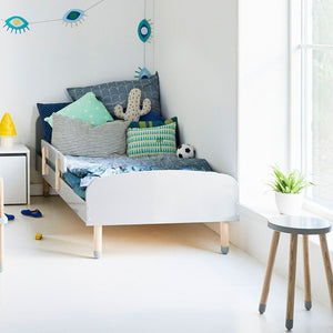 Single bed PLAY Urban Grey
