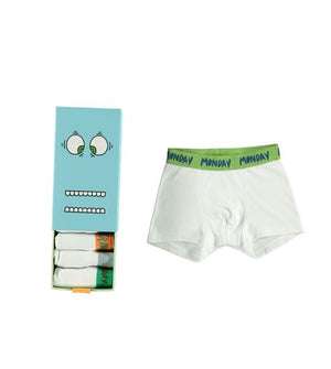 Boys Day Of The Week Set of Briefs