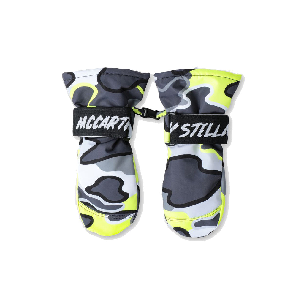Fluro Camo Ski Gloves