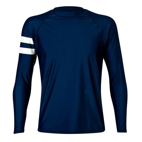 Men's Navy LS Rash Top