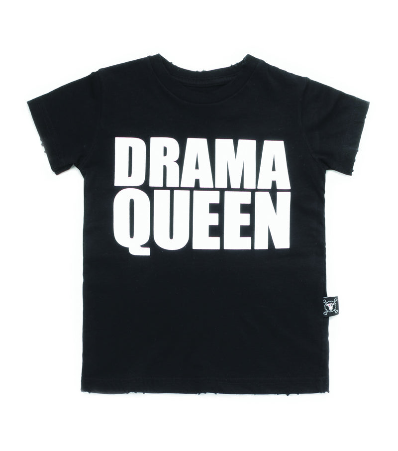 DRAMA QUEEN T-SHIRT BLACK