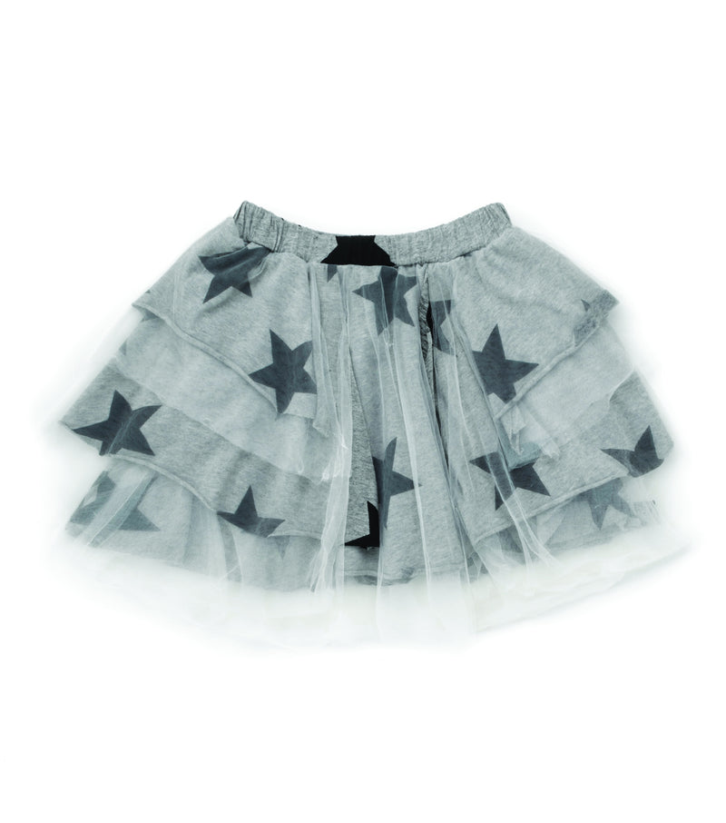 LAYERED TULLE STAR SKIRT