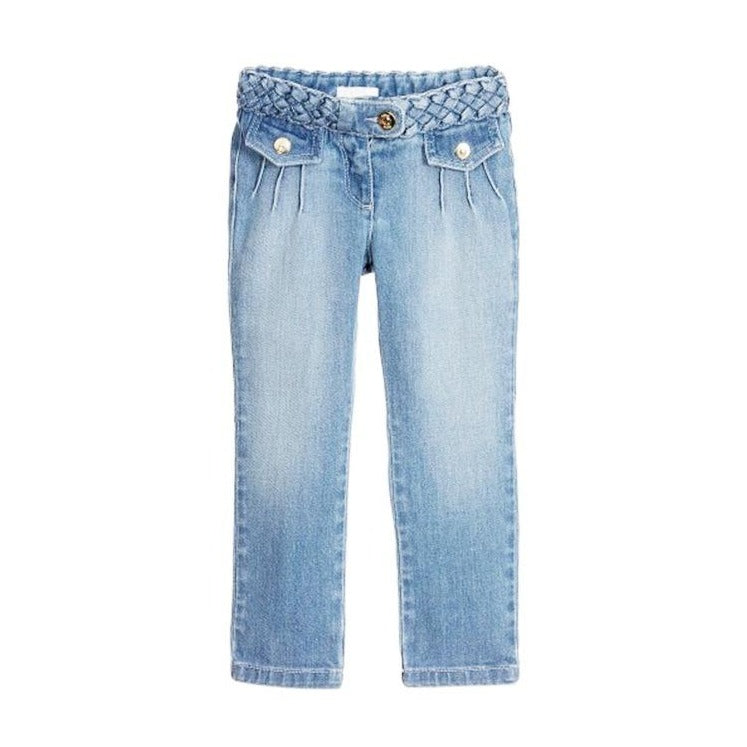 LIGHT DENIM TROUSERS