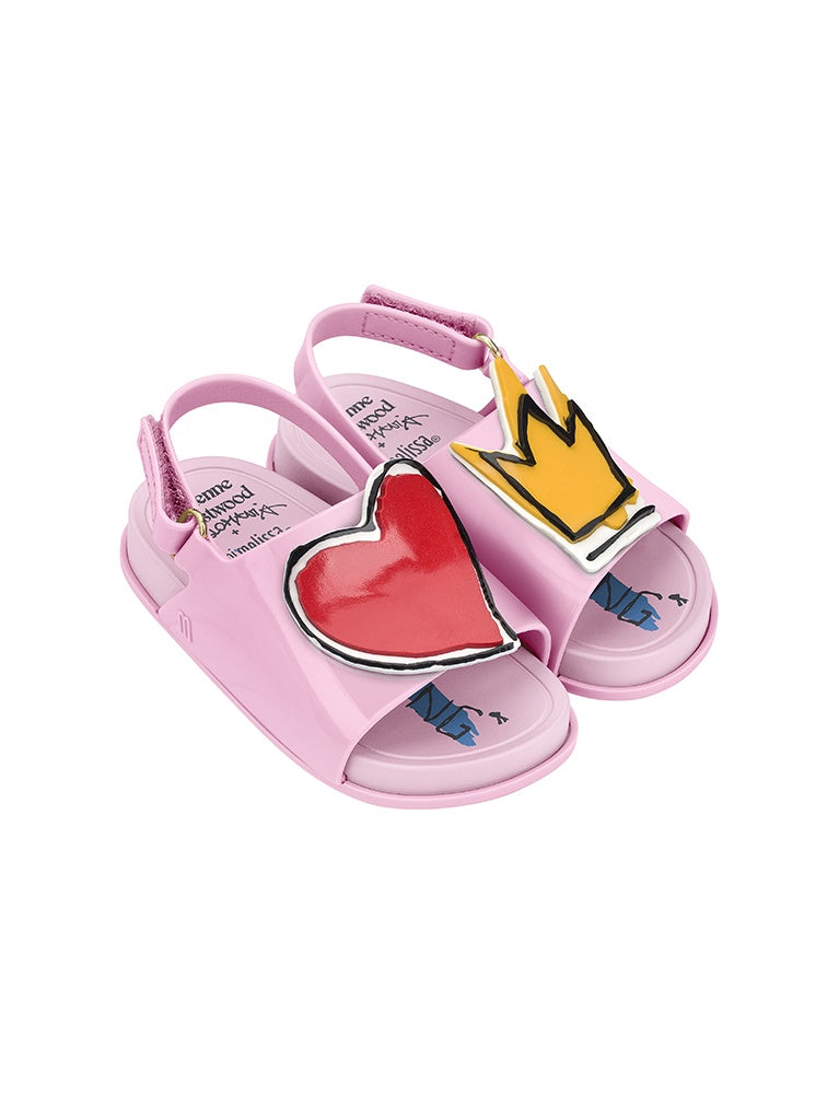 MM VW Beach Slide Sandal Pink Gloss