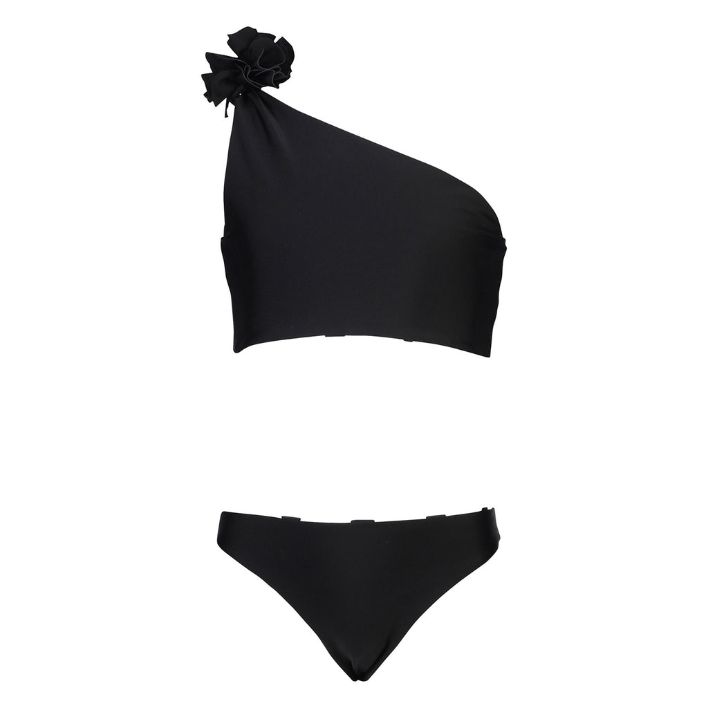 Black & White Spot Reversible One Should Bikini