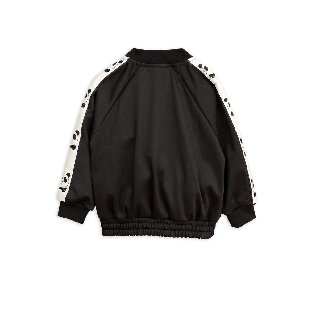 Panda track jacket in black