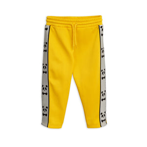 Panda track pants yellow