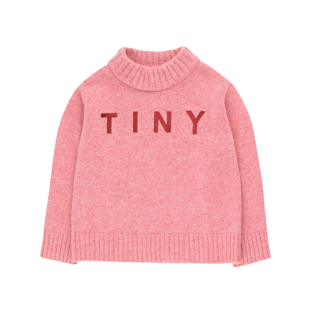 """TINY"" MOCK SWEATER"