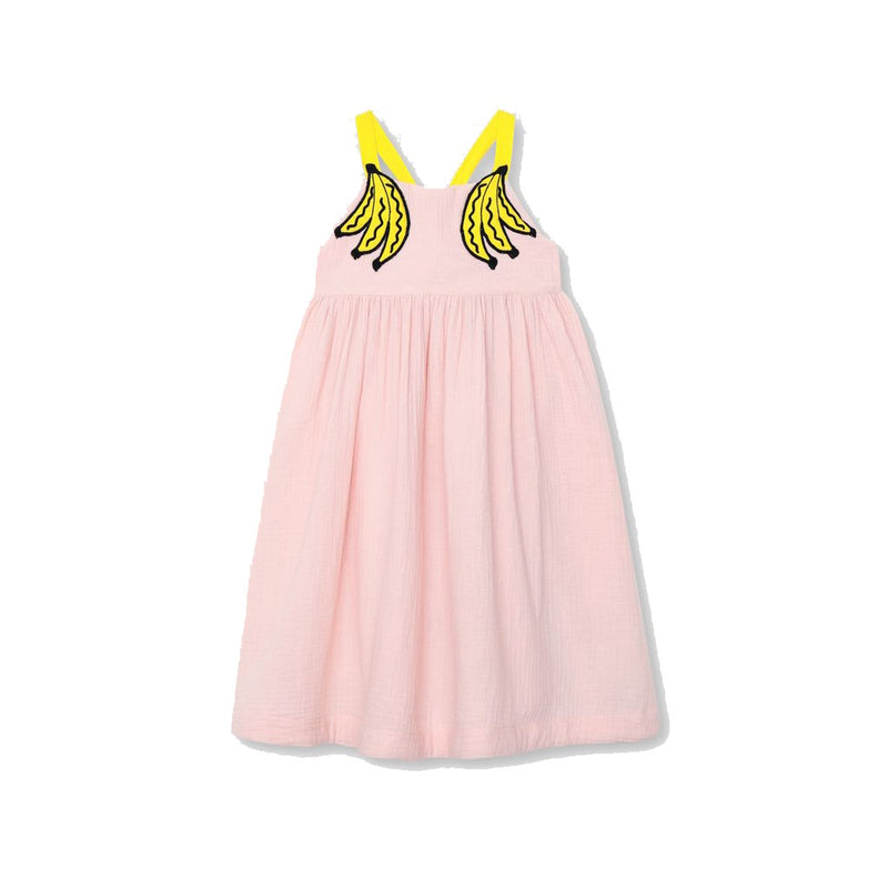 BANANAS PATCH DRESS