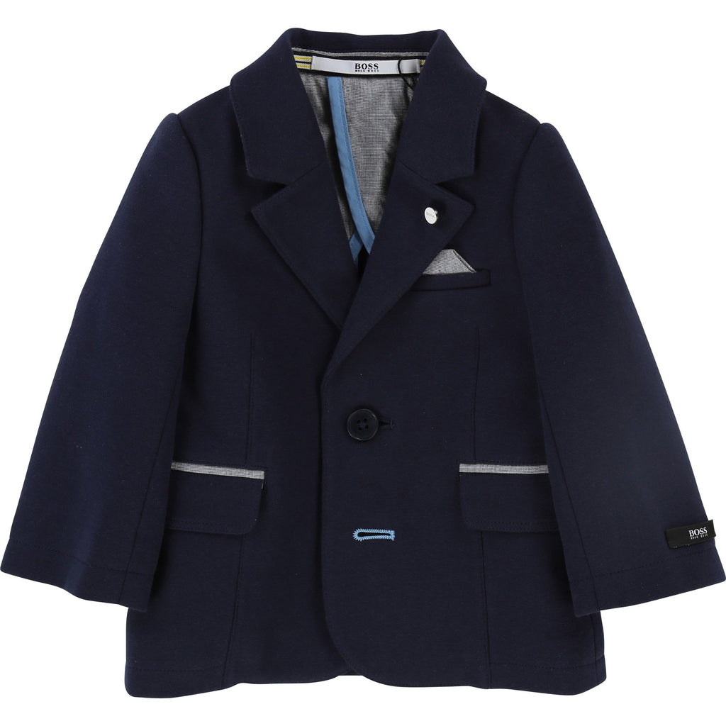 BABIES Navy Suit Jacket 18M