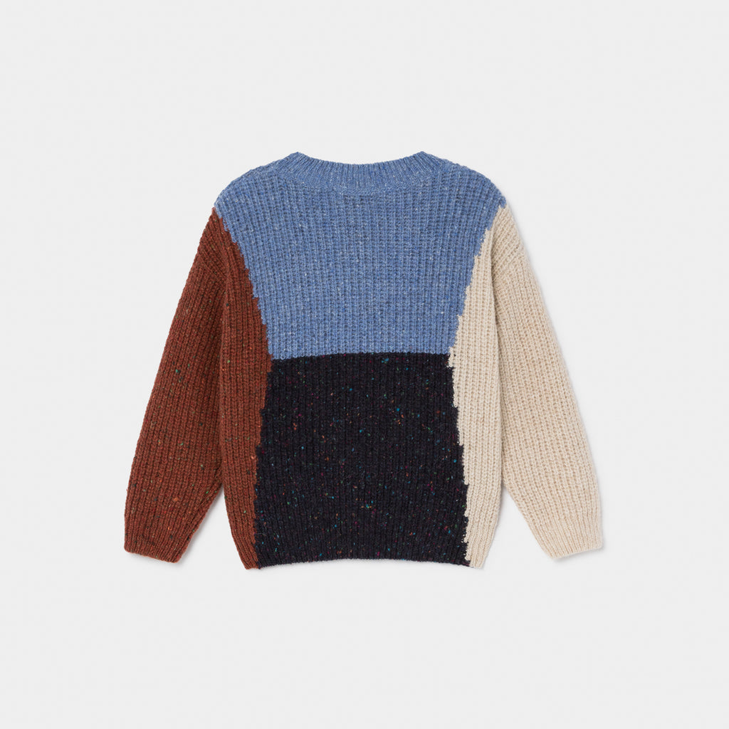 Color Block Bobo Jumper