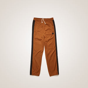 Panelled Lounge Pants Caramel Brown